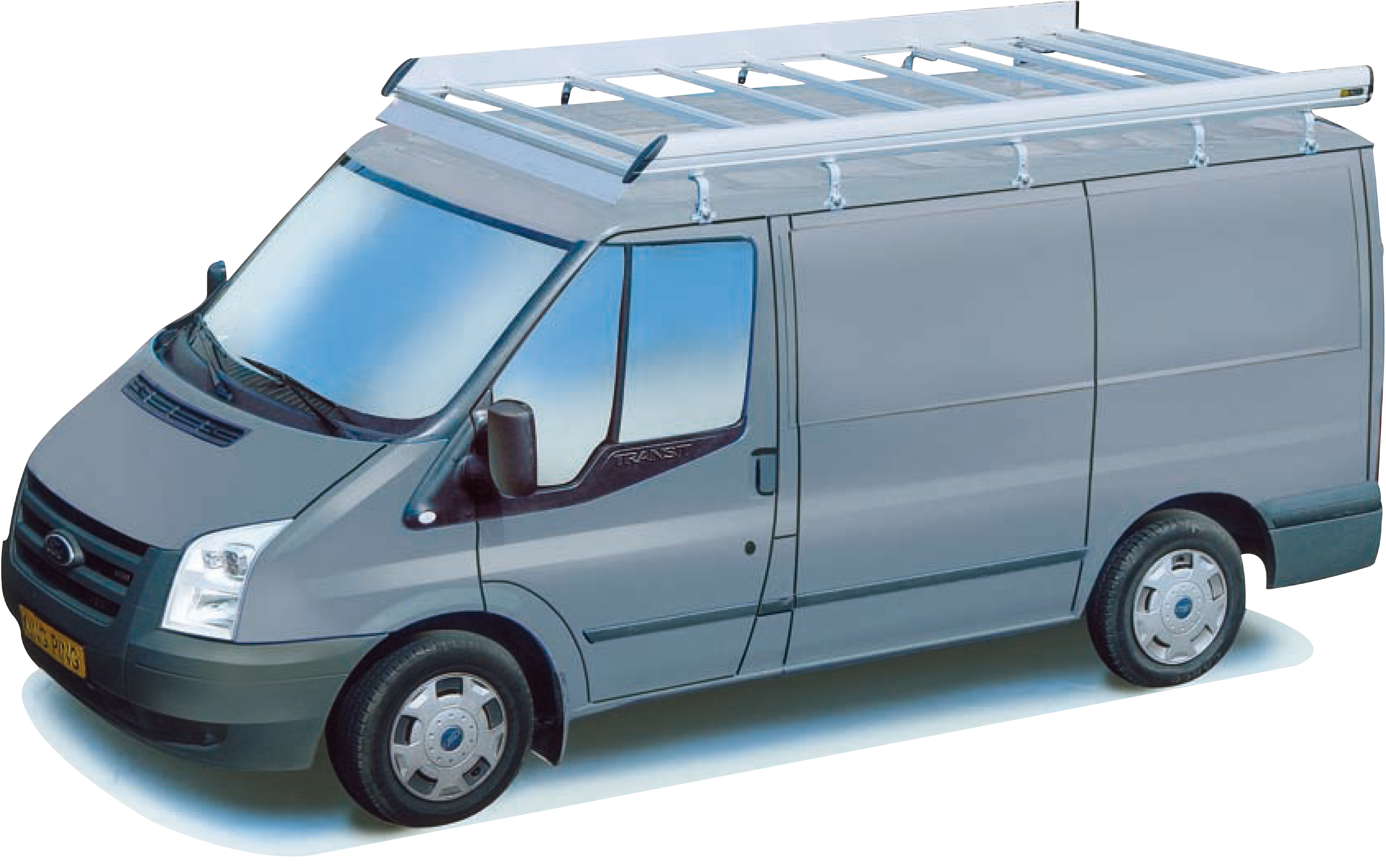 Ford transit model 01-14 aluminium imperiaal